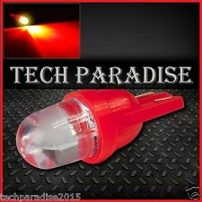 2x Ampoule T10 / W5W / W3W LED Bulb Rouge Red veilleuse lampe light 12V Auto