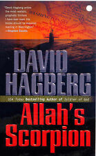 David Hagberg ALLAH'S SCORPION (Kirk McGarvey Novel) Very Good Book