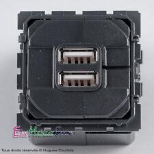 Double prise chargeur USB 1500mA céliane Legrand 67462