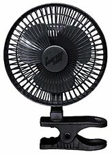 Comfort Zone 6 INCH 2 Speed Adjustable Tilt, Clip-On-Fan with 5.5 Foot Cord