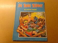 STRIP / DE RODE RIDDER 41: DE LAATSTE DROOM | Herdruk 1973