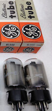 GE 6L6GC 2-Tubes NEW USA NOS NIB Tested and Auditioned MINT Matched PAIR!