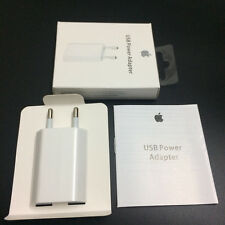 Apple Original Wall Charger iPod iPhone SEALED BOX EU Plug Power 5W MD813ZM/A