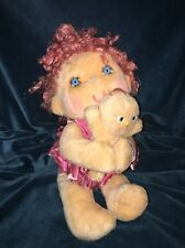 Adorably Cute n Cuddly Hugga Bunch Huggins n Baby Hug A Bye Hallmark Kenner 1985