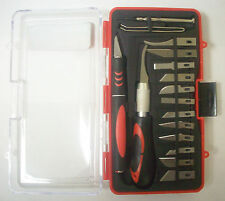 Ultra Steel 16 Piece Precision Knife Set