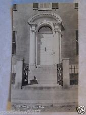 RPPC PORTSMOUTH NEW HAMPSHIRE ABRAM WENDAL DOOR REAL VELOX PHOTO UNUSED POSTCARD