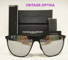 PORSCHE DESIGN 8609 SUNGLASSES P8609 BLACK / SILVER LENS (A) AUTHENTIC