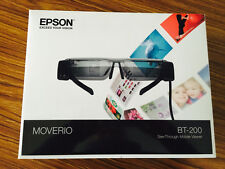EPSON MOVERIO BT-200 Smart Glasses Audio Visual EMS Free Shipping from JAPAN