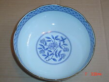 Pretty Oriental Chinese Ceramic Bowl Blue And White