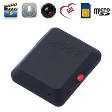 Mini GSM SIM Spia Nascosta Videocamera Audio Video Record Auricolari Cimice