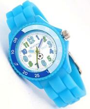 TIKKERS CHILDREN'S TIME TEACHERS FOOTBALL BLUE SILICONE STRAP WATCH-NTK0006