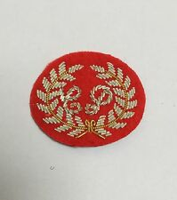 Close Protection Red Mess Dress Sleeve Badge,  Army, Military, Uniform