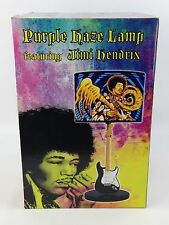 "Jimi Hendrix Experience Purple Haze 21"" Stratocaster Black Guitar Table Lamp"