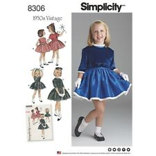 SEWING PATTERN! MAKE GIRLS VINTAGE 50'S STYLE DRESS~JACKET! PARTY OUTFIT! 3~8