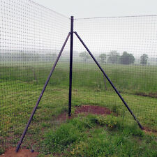 8' H Deer Fence Heavy Corner System - 2 Pack