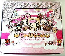 Tokidoki Donutella and her Sweet Friends Mini Figure Full Case of 16 Blind Boxes