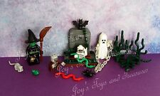 LEGO Monster Series Glow in Dark Mummy Ghost Witch Zombie 1 Graveyard Costume