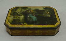 Suberb Rare Vintage Tin - Classic Victorian Scene. Sweets/Confectionary/Adverts