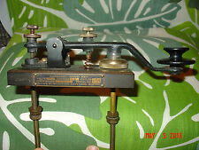 Proud & Beautiful Boston Navy Shipyard Morse Code Telegraph Spark Key Type SE-68