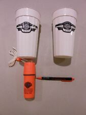 Harley Davidson 95th  Anniversary Cups (pair) , Pen and first aid kit