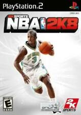 PlayStation2 NBA 2K8 VideoGames