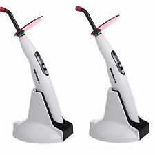 2X Zahnarzt Dental Curing Light Polymerisations lampe 1400MW 5W LED-B Woodpecker