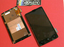 Kit DISPLAY LCD+TOUCH SCREEN per HTC HD7 T9292 VETRO VETRINO ASSEMBLATO Nuovo