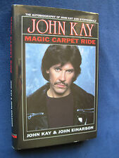 ROCK & ROLL MEMOIR - SIGNED by STEPPENWOLF Lead Singer JOHN KAY