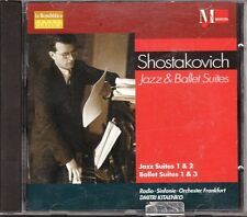 CD 335 SHOSTAKOVICH JAZZ E BALLET SUITES