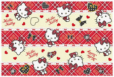 Hello Kitty Plaid Leisure Sheet Picnic Mat Beach Mat Table Linen VS1