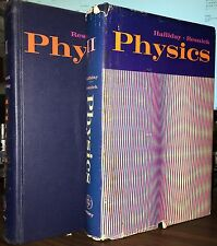 Physics Books - Part I & II, 1967, 1968. Halliday - Resnick