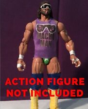 "WWE/WWF Custom Action Figure Vintage Shirt (Tank-Top): Randy Savage-""Macho Man"""