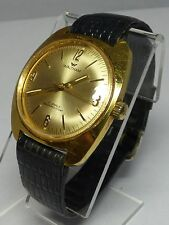 VINTAGE WALTHAM 17 JEWEL MEN WRISTWATCH GOLD TONE INCABLOC WORKS