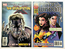 Two X-Men First Issues: Weapon X & Pryde and Wisdom