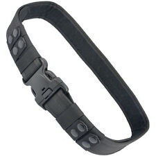 Adjustable Military Tactical Belt Waist Strap Emergency Buckle Black