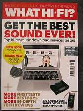 What Hi-Fi Sound & Vision January 2016 Kef Muo Best Smartphones Portable DAB