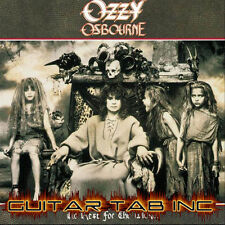 Ozzy Osbourne Guitar & Bass Tab NO REST FOR THE WICKED Lessons on Disc