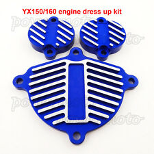 YX 150cc 160cc Engine Cam Valve Tappet Cover Dress Up Kit For KLX110 Pit Bike