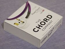Chord Company Power Chord 13 Amp UK 1.0m Mains Cable RRP £200!