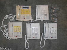 Lot of 5 LUCENT Partner White Office/Business Phones 4-18'S & 1-34D