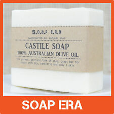 CASTILE SOAP made by 100% Australian Extra Virgin Olive Oil-Palm Oil free