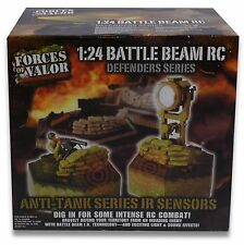 FORCES OF VALOR 1:24 BATTLE BEAM RC ANTI TANK SERIES IR SENSORS ART 424709