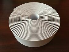 """1 1/2"""" Vinyl  Strapping For Patio Furniture 20' Roll  White"""