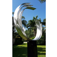 Statements2000 Contemporary Abstract Fine Metal Art Outdoor Sculpture - Triple C