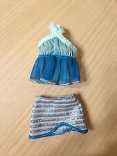 Barbie My Scene Jewel It Delancey Doll's Outfit Halter Top Skirt Set Rare