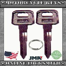 2 NEW BLANK KEYS FOR YAMAHA MOTORCYCLES CODES: D32010-D79897- YH49 / YAMA-19D