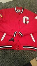 Raw Blue College Jacke Rot Gr 2XL