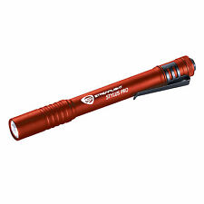 Streamlight Stylus Pro Red C4 LED 65 Lumen Flashlight 66120 + Holster
