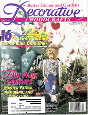 DECORATIVE WOODCRAFTS :  Back Issue - April 1996