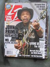 LIVING BLUES Magazine #205 (2010) JOHN PRIMER Marquise Knox Billy Branch MCM Rec